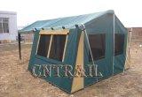Stahlpole-Segeltuch-Kabine-Zelt für kampierendes Ft5004