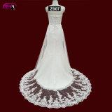 Robes de mariage nuptiales de lacet romantique de Tulle