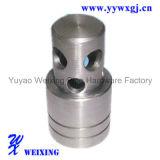 Valve de glissière hydraulique d'embout de durites d'acier inoxydable