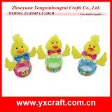 Botella del caramelo de Pascua de la decoración de Pascua (ZY15Y346-1-2-3)