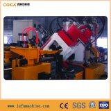 Marcatura di perforazione d'acciaio e linea di produzione di taglio