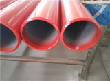 Красная покрашенная труба спринклера пожара средства En10255 BS1387 As1074