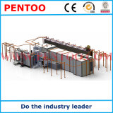 Ligne d'enduit de poudre pour le radiateur en aluminium avec la bonne qualité