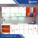 De serigrafie schilderde Aangemaakt Gehard glas voor de Decoratie van de Muur van Splashback van de Keuken