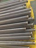Cilindros cónicos do entalhe da finura do fio contínuo da cunha dos Ss Customed Johnson para a filtragem Waste do tratamento de Treatment&Water