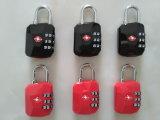 Form-Entwurfs-Quadrat Tsa Zahl Lock&Travel Beutel-sicheres Vorhängeschloß