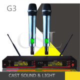 Microfone sem fio popular multifuncional UHF Karaoke multifuncional G3