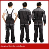 Factory Wholesale Cheap Cotton Polyester Working Bib Pantalons pour hommes (W257)