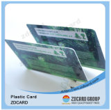 Carte de contact de carte magnétique de PVC Smart Card de plastique