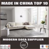 De los muebles caseros modernos 2017 del cuero sofá en forma de L abajo