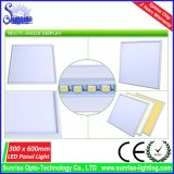 3 años de la garantía 85lm/W 30W LED de luz del panel cuadrada