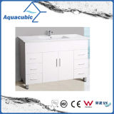 Populaires australiens personnalisent la vanité blanche lustrée élevée de salle de bains (AC8120)