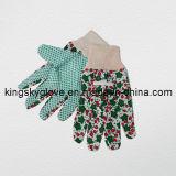 PVC Dots (2620)를 가진 면 Gloves