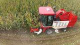 소형 옥수수 결합 추수 기계
