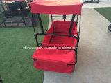 De Wagen van de Luifel van de rode Kleur met Rem