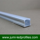 """Alloggiamento di alluminio della scanalatura a """"u"""" dell'espulsione per la striscia del LED"""