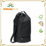 Polyester colorido Drawstring Duffle Bag Gym Bags con Shoe Pocket