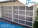 Estable cristal elegante de aluminio Puertas de Garaje / vidrio aislante Puertas de Garaje