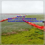 Boum solide coloré de PVC de flotteur, boum en caoutchouc remplissant de barrage de l'eau