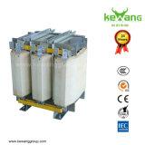 Transformateur triphasé refroidi à l'air d'isolement de la capacité de 10kVA-1250kVA