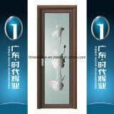 Алюминиевые нутряные двери Casement дверей ванной комнаты