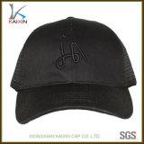 カスタム人のスポーツは黒いトラック運転手の帽子を刺繍した
