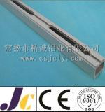 6061 T5 het Profiel Aluminium met Knipsel, CNC die het Profiel van het machinaal bewerken van de Uitdrijving van het Aluminium (jc-p-84074)
