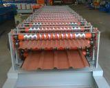 Rolo de alumínio da folha do telhado que dá forma à máquina