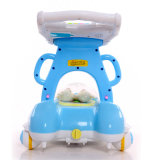 Marcheur rond de bébé de dessin animé de modèle neuf avec 4 roues