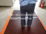 Половой коврик резины кухни шеф-повара дренажа товарного сорта Anti-Fatigue