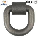 """D'acciaio forgiati legano giù l'anello a """"D""""/l'anello a """"D"""" di flagellazione"""