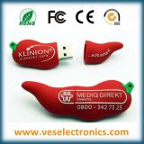 Regalo di promozione Pendrive 100% Custome PVC morbido USB Flash Drive