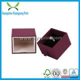 Anillo de joyería de papel personalizado caja de embalaje con la impresión colorida