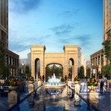 Wiedergabe-Grafiken des Residentail Gebäude-3D mit hoch qualifiziertem