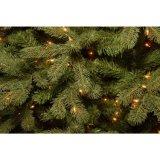 7.5 voet Spar van pre-Lit van de Groene Douglas veegde neer Kunstmatige Kerstboom met Duidelijke Lichten (MY100.084.00)