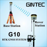 Gintec Rtk Differencial GPS G10は30度の傾きの調査をサポートする