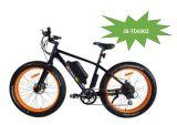 250-500W potente motor E-bicicletas de montaña Playa del crucero de E Bike 4 pulgadas Fat Tire Bicicleta eléctrica Bicicleta eléctrica (JB-TDE00Z)