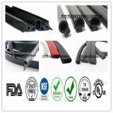 Profiel van de Uitdrijving van het silicone het Rubber voor Auto en Bouw