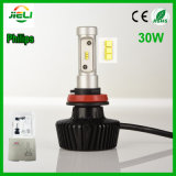 Faro dell'automobile di Philips 30 W.P. 83 H11 LED