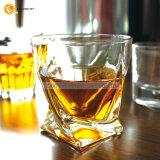 2017 дунутое руками стекло квадратного нижнего изготовления вискиа стеклянного ясное выпивая