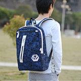 Impression femelle de sac de vent d'université de sac à dos coréen de marée (8033)