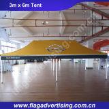 Tienda al aire libre de aluminio plegable del pabellón de la estrella de la impresión a todo color impermeable