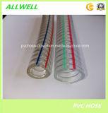 L'eau renforcée en plastique de spirale de ressort de fil d'acier de PVC renforcent le boyau de galerie pour canalisation