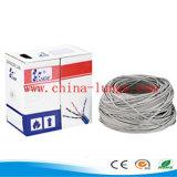 Cat5e, Cat6 cable de cobre, cable LAN, 305m / cartón