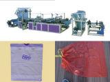 Ficelant le sac d'ordures faisant la machine (constructeur professionnel)