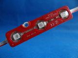 공장 직매는 5730 3LEDs LED 모듈을 방수 처리한다