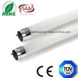 Aluminium+PC 세륨 RoHS를 가진 높은 루멘 1.2m T8 LED 관 점화