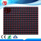 Singolo colore che fa pubblicità al modulo rosso esterno dei moduli P10 LED della visualizzazione di LED