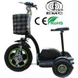 Самокат удобоподвижности 3 колес электрический для инвалид
