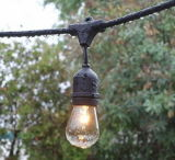 E27 impermeabilizan el sostenedor de la lámpara para la cadena ligera al aire libre